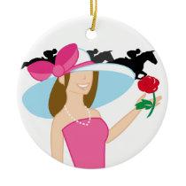 Horse Racing - SRF Ceramic Ornament