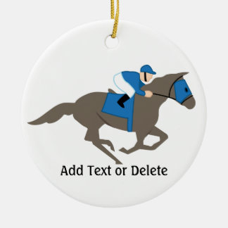 Horse Racing - SRF Christmas Ornaments