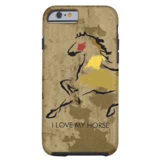 Horse racing tough iPhone 6 case
