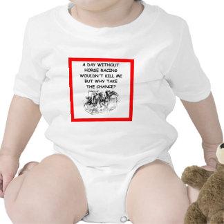 horse racing baby bodysuits