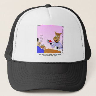 Horse Radish Funny Gifts & Collectibles Trucker Hat