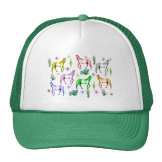 Horse Rainbow Trucker Hat