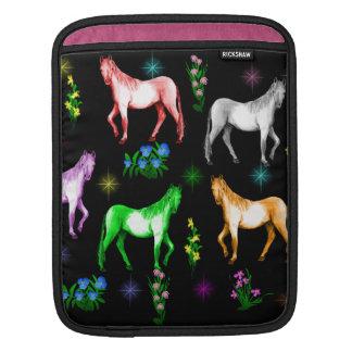 Horse Rainbow iPad Sleeve