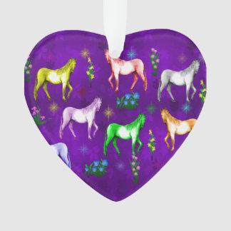 Horse Rainbow Ornament