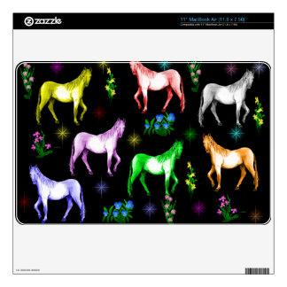 Horse Rainbow MacBook Decals