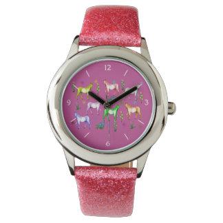 Horse Rainbow Wrist Watch