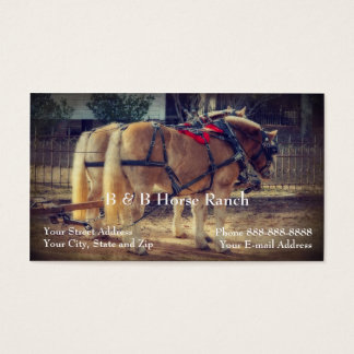 Horse Ranch Business Card