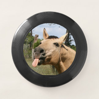 Horse razzberry Wham-O frisbee