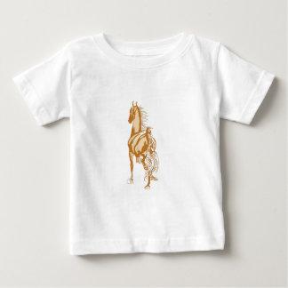 Horse Rear Baby T-Shirt