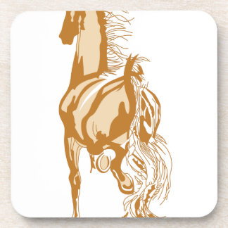 Horse Rear Beverage Coaster