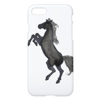 Horse Rearing Facing The Left iPhone 7 Case