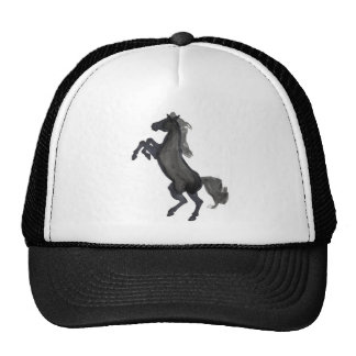 Horse Rearing Facing The Left Trucker Hat