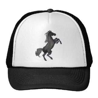 Horse Rearing Facing The Right Trucker Hat