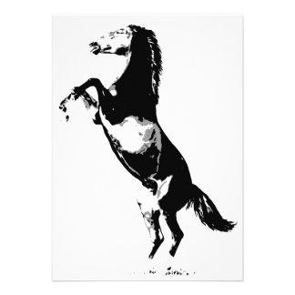 Horse Rearing Invitation