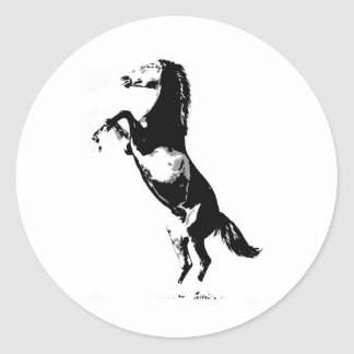Horse Rearing Stickers