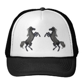 Horse Rearing Up - Mirror Trucker Hat