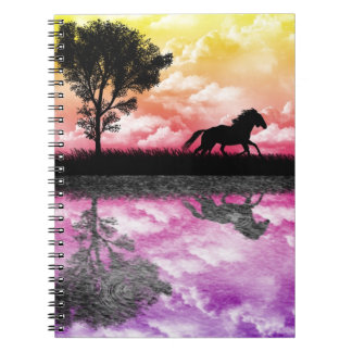 Horse Reflections Notebook