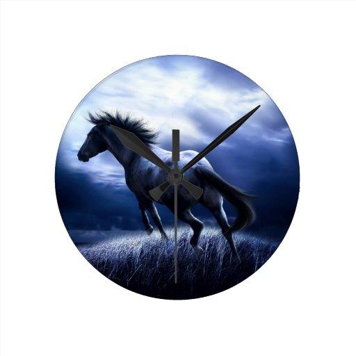 Horse Reloj Redondo Mediano