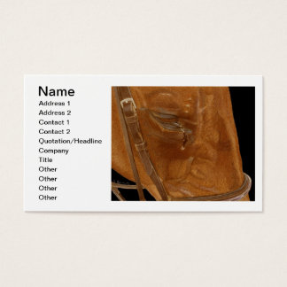 Horse Rescue Art Business Card