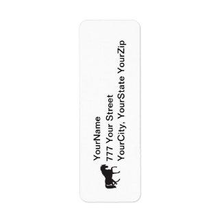 Horse return address label