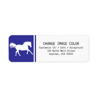 Horse - Return Address Label