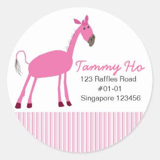 Horse Return Address Sticker