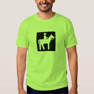 horse ridding t shirt