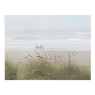 Horse Ride on the Beach Postcard