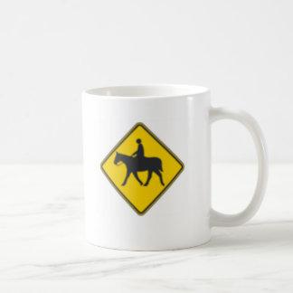 Horse Rider Coffee Mugs