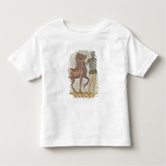 Horse rider in racing colours toddler t-shirt