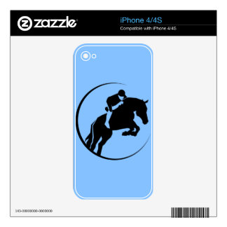 Horse rider iPhone 4S decal