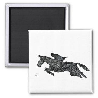 Horse Rider Magnet