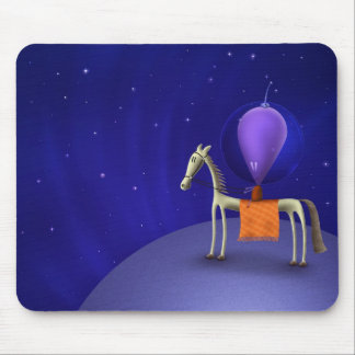 Horse Rider Mouse Pad