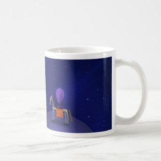 Horse Rider Classic White Coffee Mug