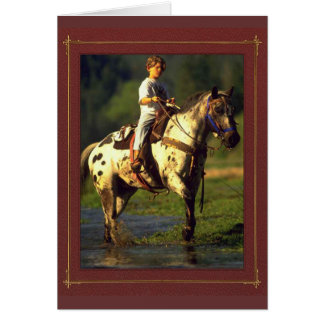 Horse Rider NoteCards Card