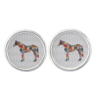 Horse Rider Race Club Race+club Gamble Game Champ Cufflinks