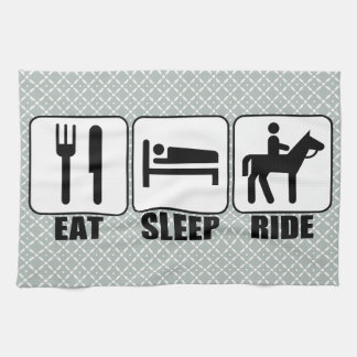Horse Riders Eat Sleep Ride a Horse Cleaning Towel