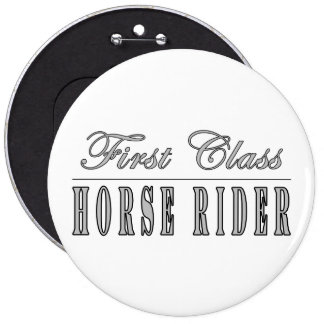 Horse Riders : First Class Horse Rider Buttons