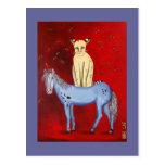 Horse Riding Bob Postcards