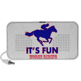 horse riding Designs Laptop Speakers