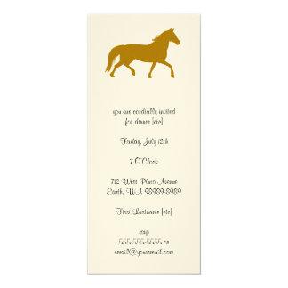 Horse (riding, equestrian) card