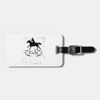 Horse Riding Gift For Horse Lover Bag Tag