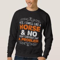 Horse Riding Hobby Gift Idea For Riders Sweatshirt