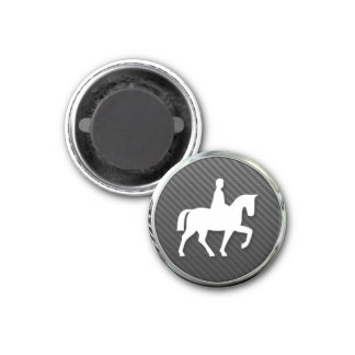 Horse Riding Icon Magnet