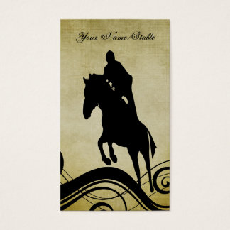 Horse Riding Instructor or Stable Business Card