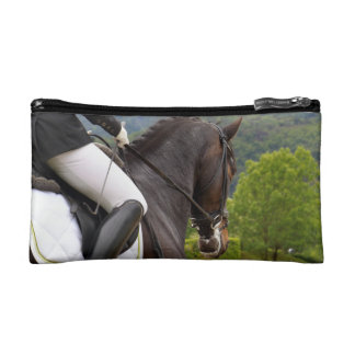 Horse riding makeup bag