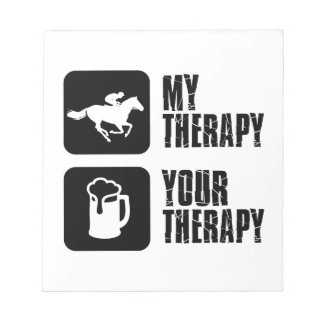 Horse riding my therapy scratch pad