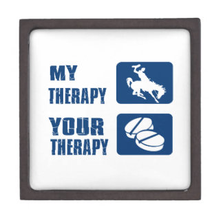 Horse riding my therapy premium gift box