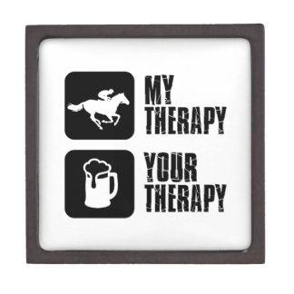 Horse riding my therapy premium keepsake box