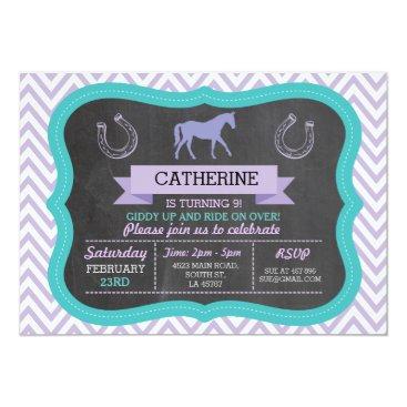 WOWWOWMEOW Horse Riding Party Invite Pony Invitation Invite